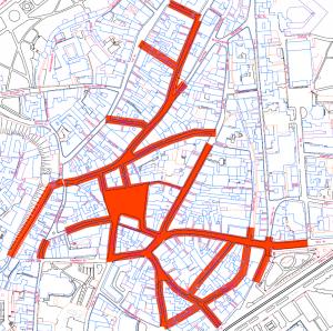 Tallinna vanalinn jalakäijate ala